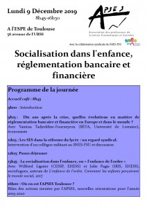Invitation formation APSES Toulouse